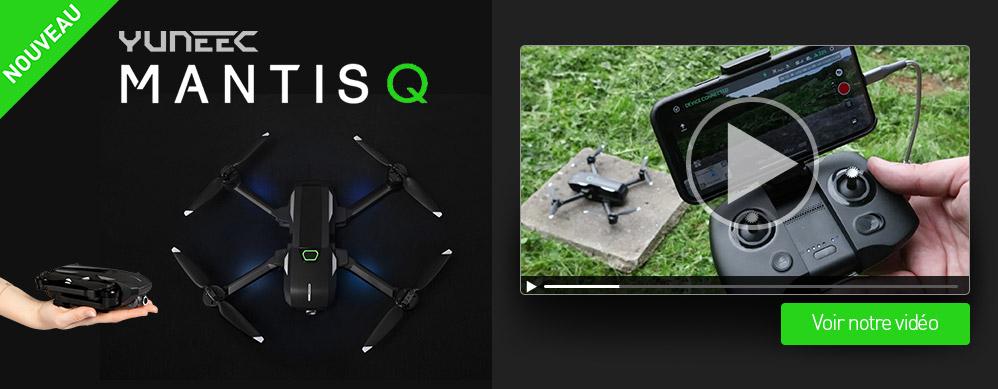 vidéo nouveau drone mantis q yuneec