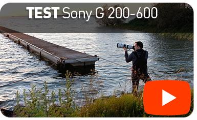 TESTvidéo : Sony G 200-600