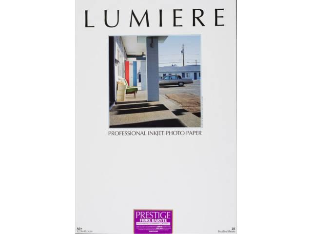 papier photo lumiere prestige fibre baryt 310g a3 25. Black Bedroom Furniture Sets. Home Design Ideas