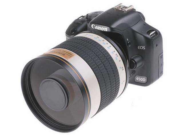 Objectif photo samyang 500 mm f 6 3 mc if miroir monture for Objectif a miroir