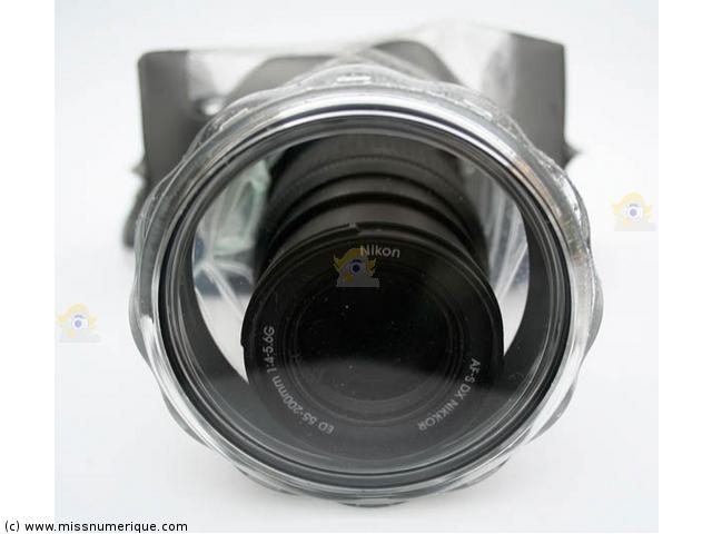 Aquapac 458 au meilleur prix for Housse appareil photo reflex