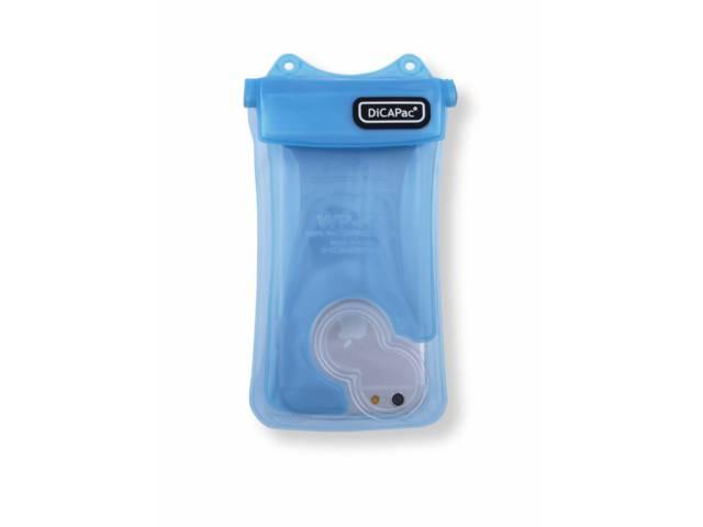 Housse tanche bleue dicapac wp i10 en stock au meilleur prix for Housse etanche smartphone