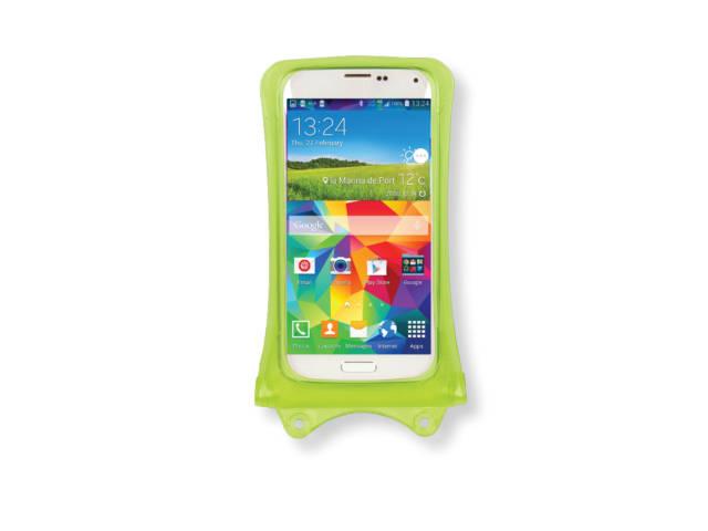 Housse tanche verte dicapac wp c1 au meilleur prix for Housse etanche smartphone