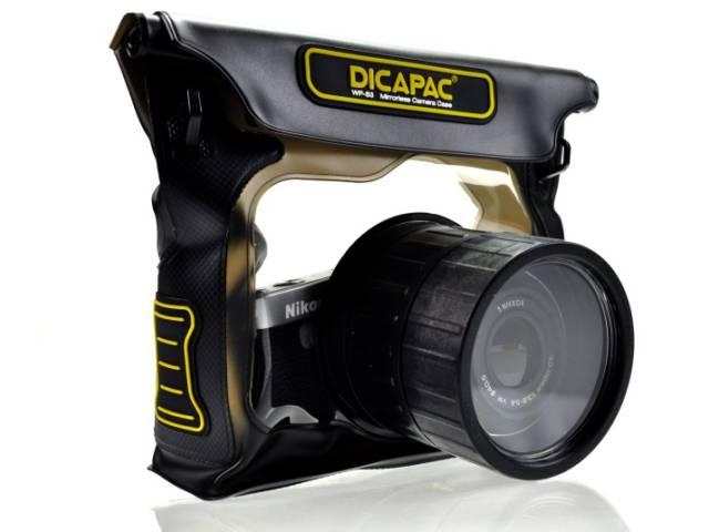 Housse dicapac wp s3 pour appareil photo hybride au for Housse appareil photo hybride