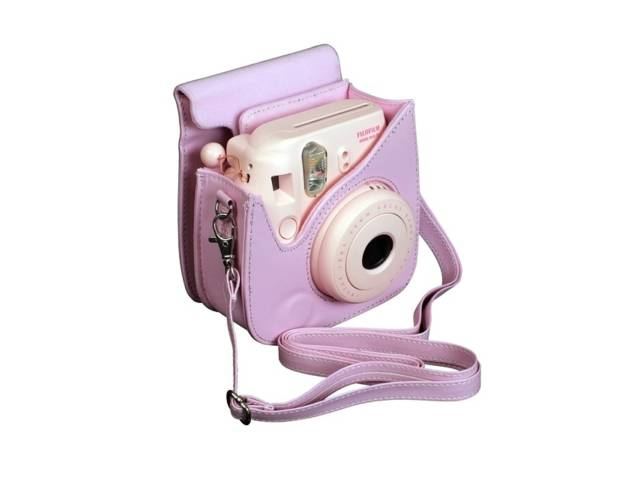 Housse fujifilm instax mini 8 rose for Housse instax mini 8