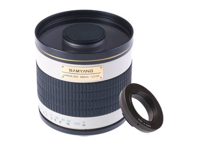 Objectif photo samyang 500 mm f 6 3 mc if miroir monture for Objectif a miroir pour nikon