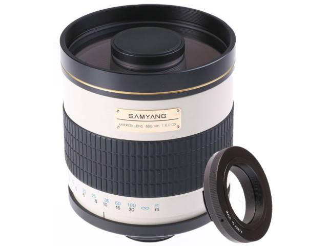 Samyang objectif photo 800 mm f 8 mc if miroir pour nikon for Objectif a miroir pour nikon