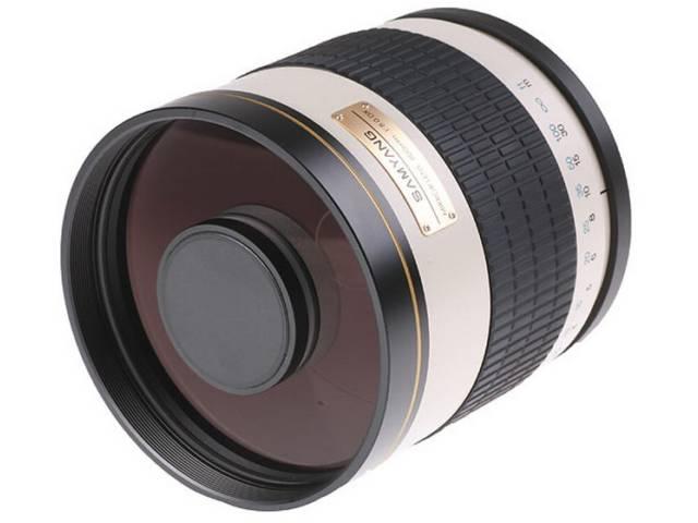 Objectif photo samyang 800 mm f 8 mc if miroir monture t2 for Objectif miroir