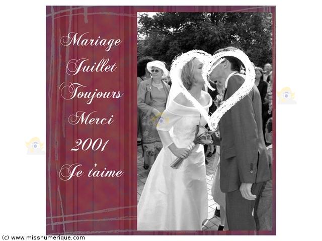 Exemple mariage : Forum Scrappeuses  Scrapbooking  auFeminin