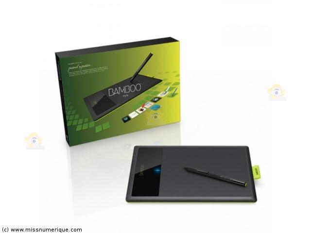 tablette wacom bamboo pen. Black Bedroom Furniture Sets. Home Design Ideas