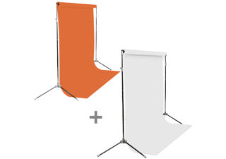 bd fond studio en papier blanc 129 super white fond studio bd en papier orange 152 tangerine 2. Black Bedroom Furniture Sets. Home Design Ideas