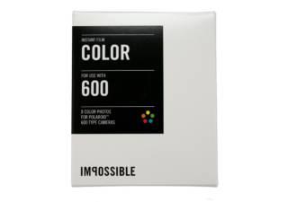 Pack recharge IMPOSSIBLE Color 600 cadre blanc pour Polaroïd 600 et Instant  Lab b841ad990252