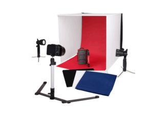 Studio Lampes X Cm Portable Led Avec 60 Caruba Séparées dBeWrCxo