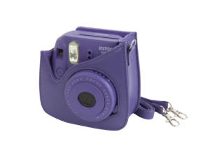 housse fujifilm instax mini 8 violet. Black Bedroom Furniture Sets. Home Design Ideas