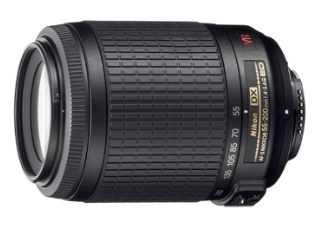 NIKON AF-S VR DX 55-200 mm f/4-5.6 objectif photo