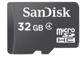 sandisk micro sdhc 32 go. Black Bedroom Furniture Sets. Home Design Ideas