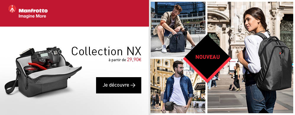 MANFROTTO Nouvelle collection NX