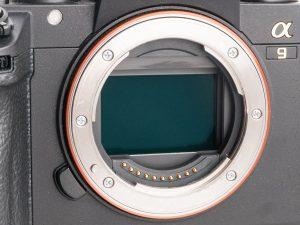 capteur, full frame, plein format, sony, a9