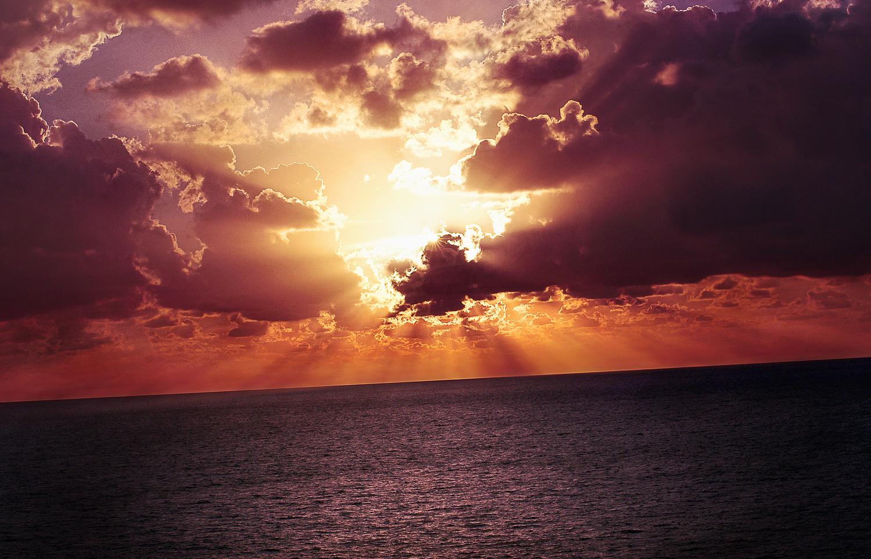 Conseils photo paysage : horizon oblique.
