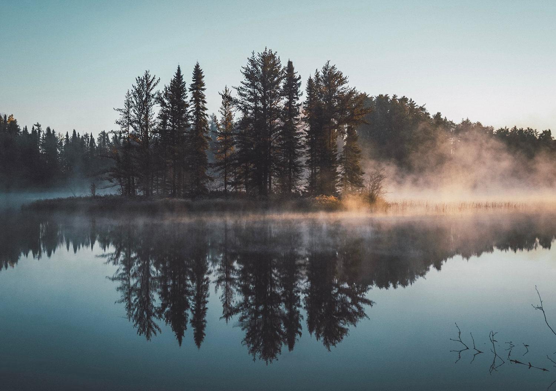 Conseils photo paysage : reflet.