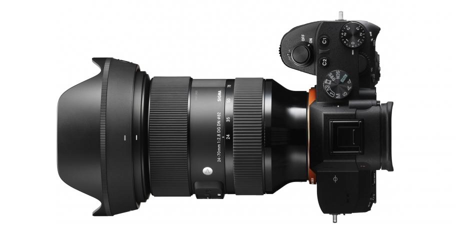 Sigma 24-70 mm f/2,8 DG DN Art : Sony A.