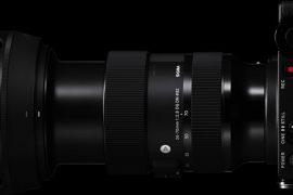 Sigma 24-70 mm f/2,8 DG DN Art : ouverture.