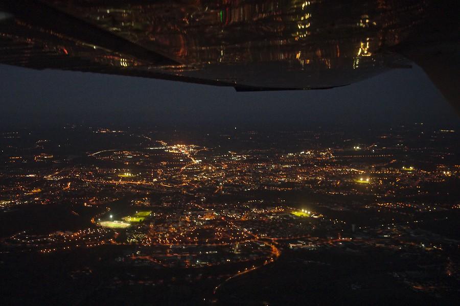 Vol de nuit sur Angoulême