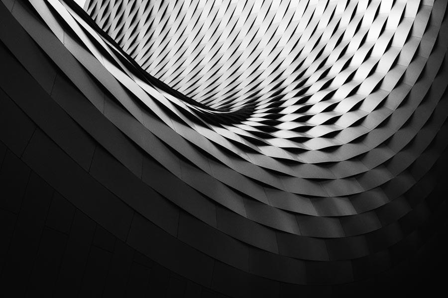 Architecture en noir et blanc par Samuel Zeller