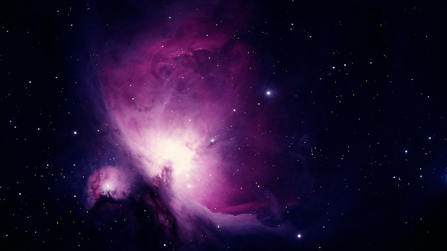 Astrophotographie de la nébuleuse d'Orion