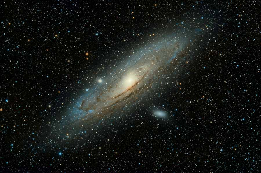 Astrophotographie d'une galaxie par guillermo ferla