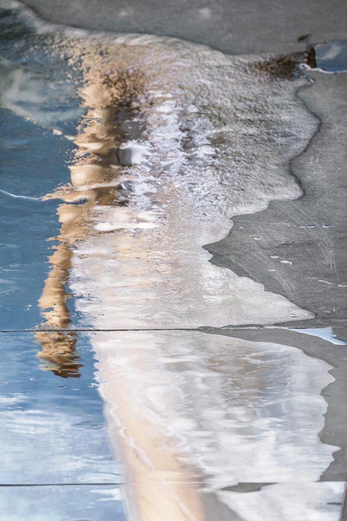 Photo de Barbara Cole, extrait de la série Miroir d'eau