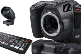 BlackMagic Design Pocket Cinema Camera 6K Pro et accessoires