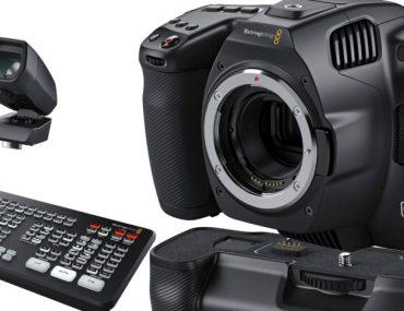 BlackMagic Design Pocket Cinema Camera 6K Pro et accessoires
