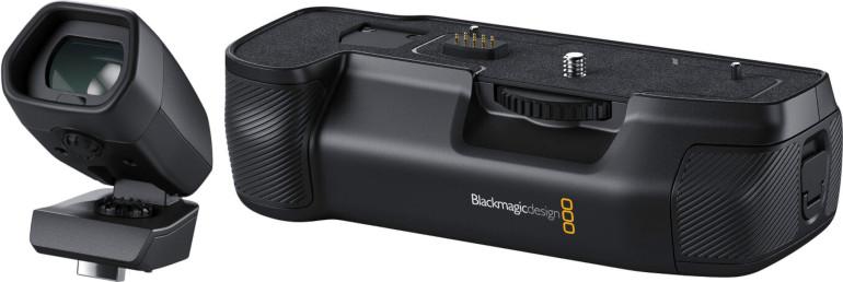 Viseur et poignée d'alimentation de la BMPCC 6K Pro