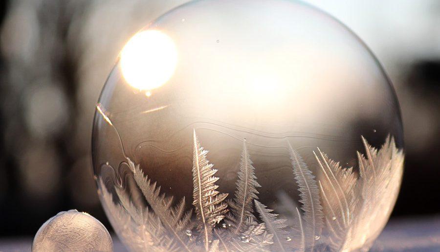 Comment photographier des bulles de savon gelées ?