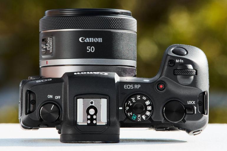 Canon RF 50 mm f/1,8 STM sur EOS RP