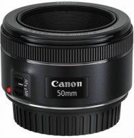 Objectif photo Canon ef 50 mm f/1,8 stm (3,9 cm - 159g)