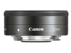 Canon EF-M 22mm f/2 STM (105g)