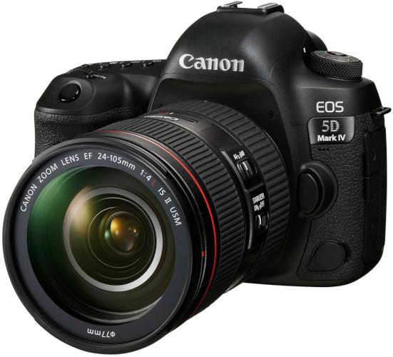 Canon EOS 5D Mk IV et 24-70 mm f/4L