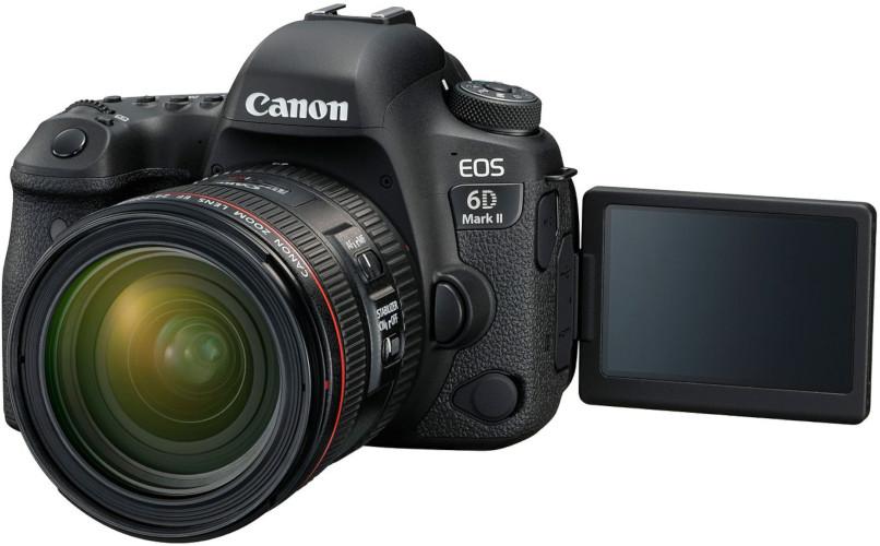 Canon EOS 6D Mk II et 24-70 mm f/4L