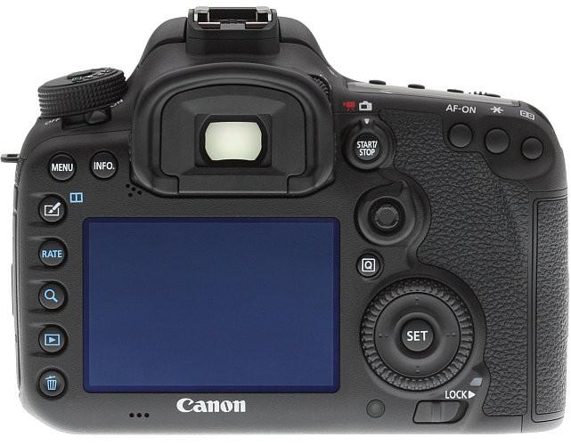 Dos du Canon EOS 7D Mk II