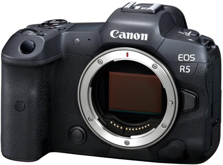 L'hybride plein format Canon EOS R5 nu
