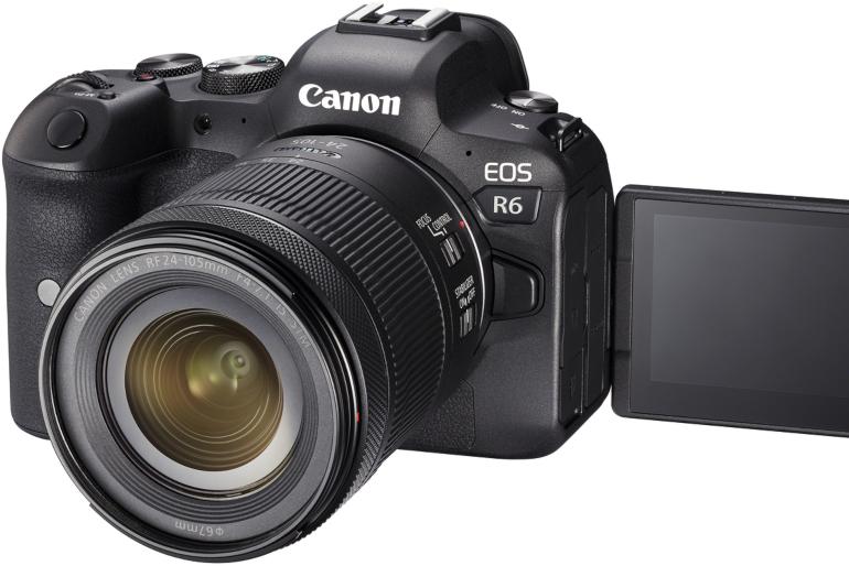 Canon EOS R6 et 24-105 mm