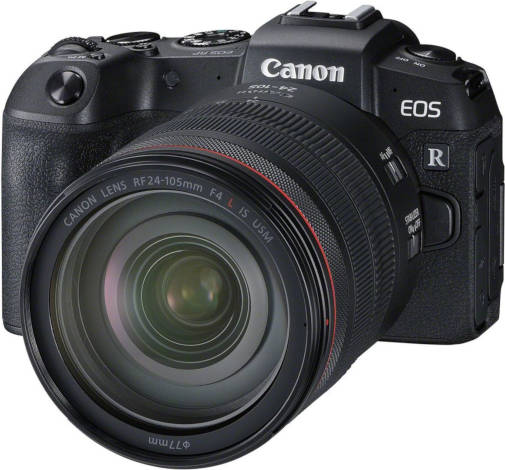 Canon EOS RP avec RF 24-105 mm f/4L IS USM.