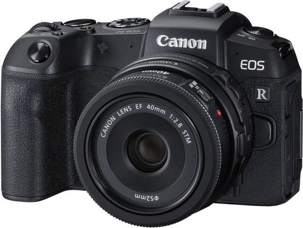Canon EOS RP et EF 40 mm f/2,8.