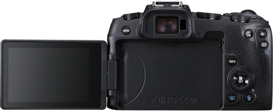 Canon EOS RP écran ouvert.