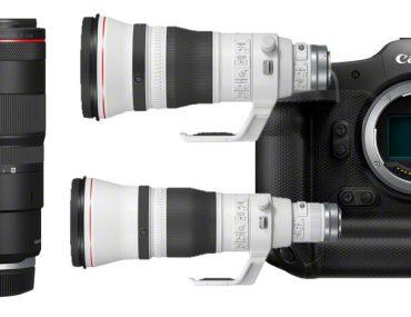 Nouveautés Canon 100mm Macro, 400mm, 600mm et EOS R3
