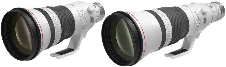 Canon RF 400mm et 600mm