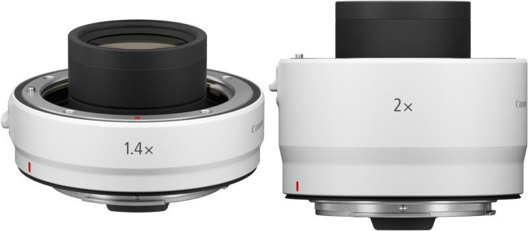 Multiplicateurs de focale Canon RF 1,4x et 2x