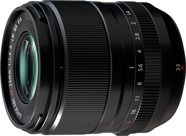 Fujifilm XC33mm F1.4 R LM WR